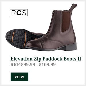 Elevation Zip Paddock Boots