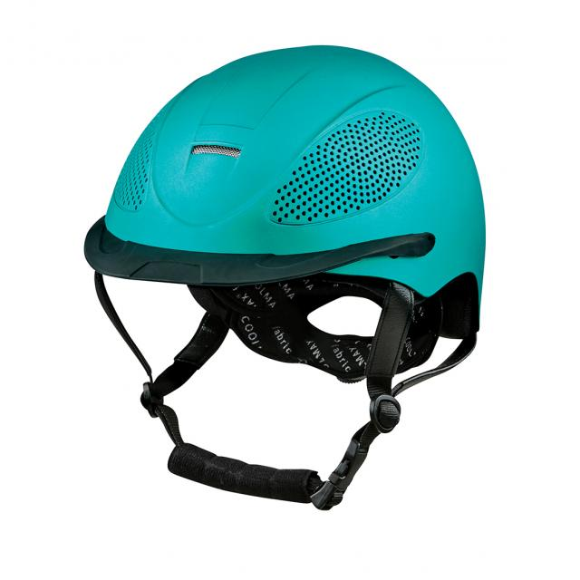 Dublin Topaz Metallic Helmet Teal