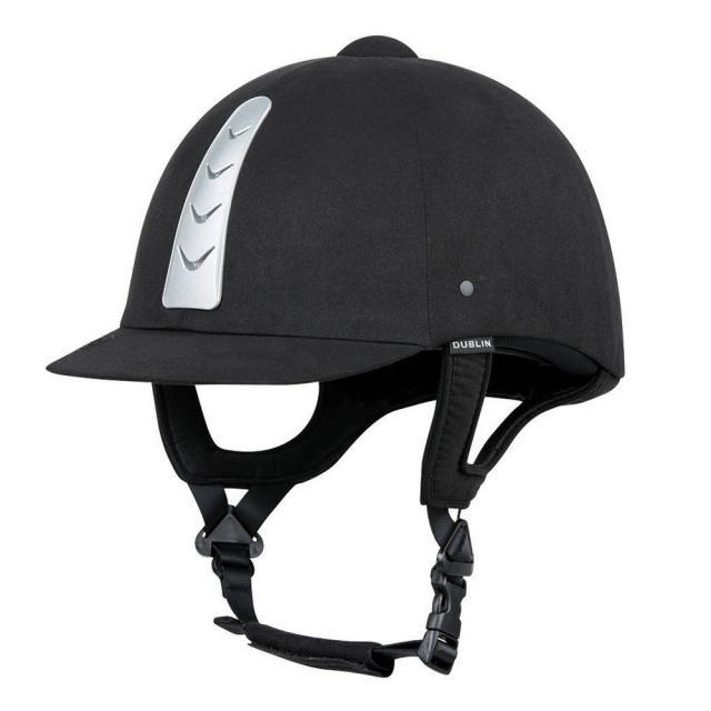 Dublin Silverline Helmet Silver