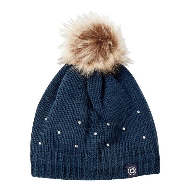 Dublin Sparkle Bobble Beanie Ink Navy