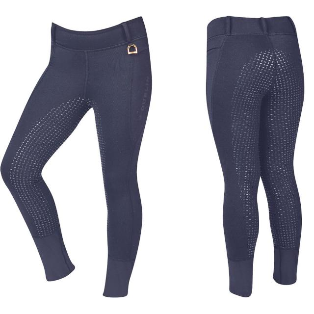 Dublin Cool It Everyday Kids Riding Tights True Navy