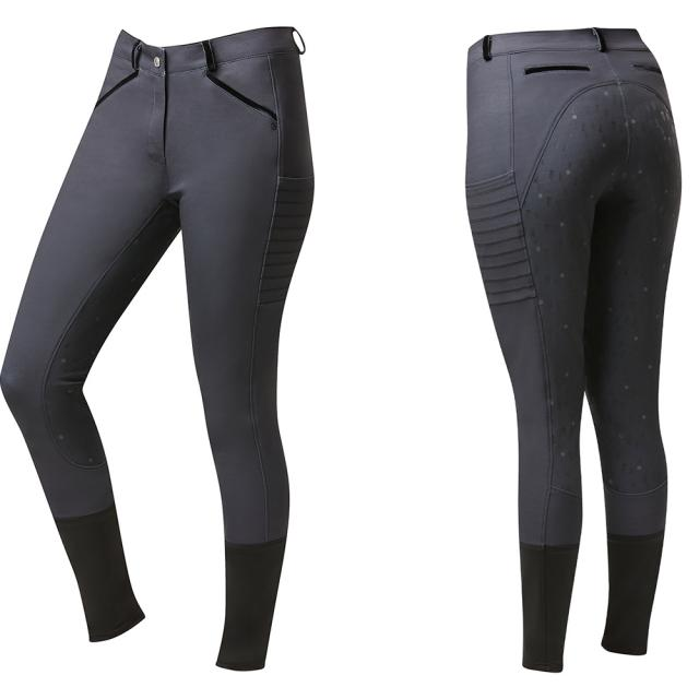 Dublin Juliet Winter Full Grip Tech Breech With Phone Pocket Black