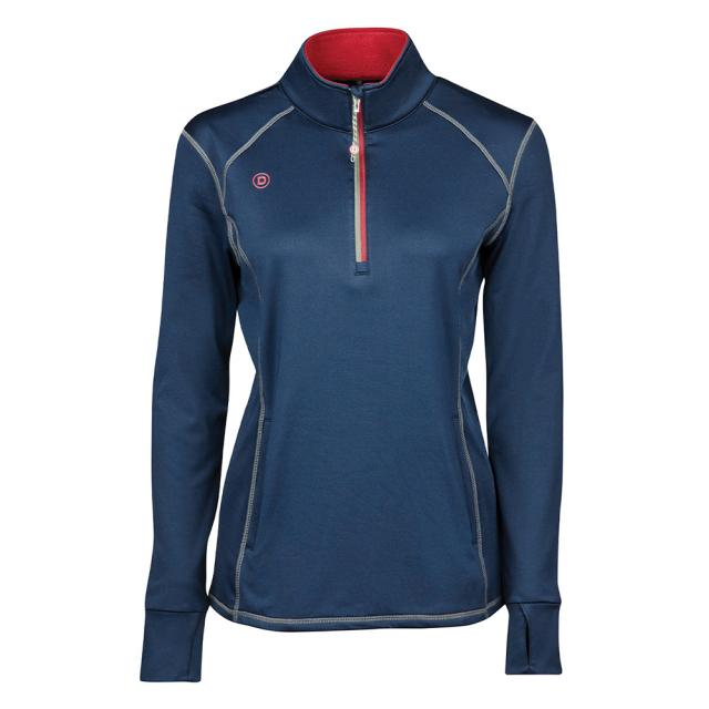 Dublin Rada Softshell 1/4 Zip Midlayer Ink Navy