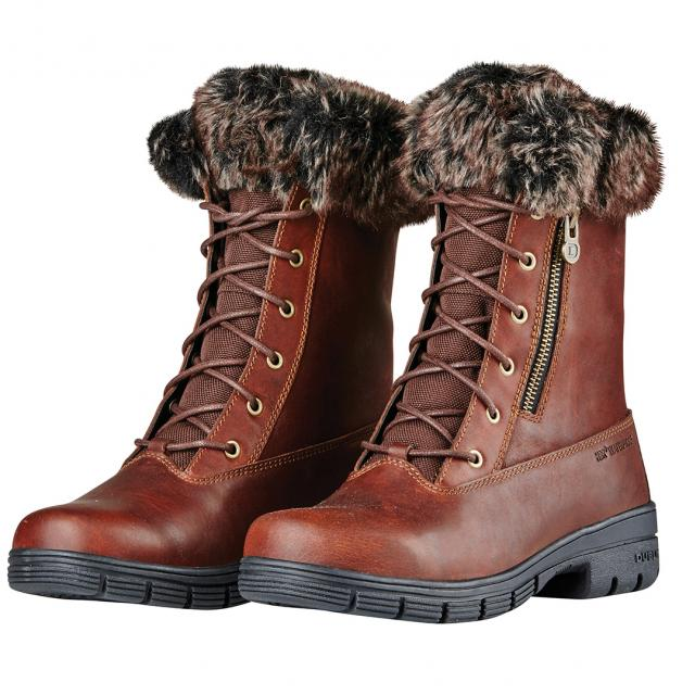 Dublin Bourne Boots Red Brown