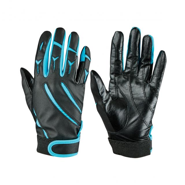 Dublin Elite Schooling Gloves Black/Blue