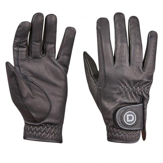 Dublin Everyday Goat Leather Riding Gloves Black