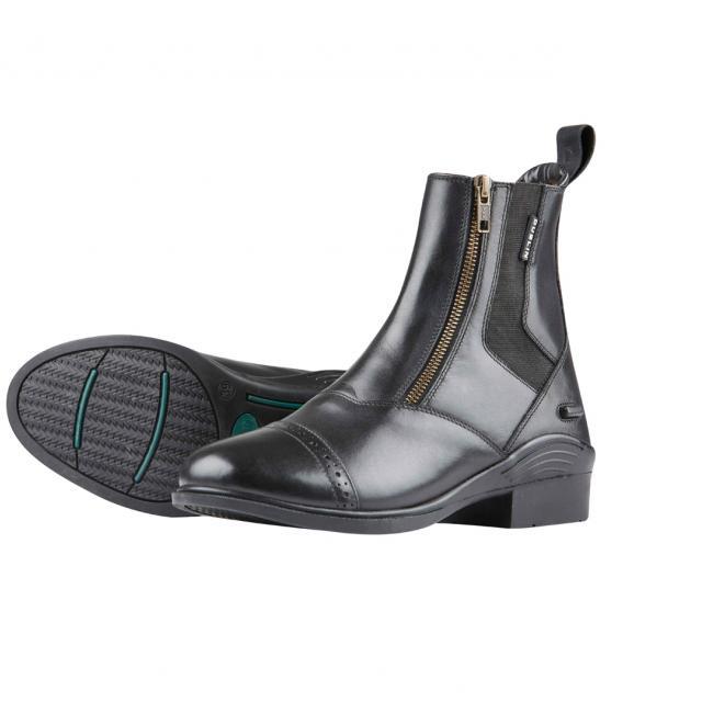 Dublin Evolution Double Zip Front Paddock Boots Black