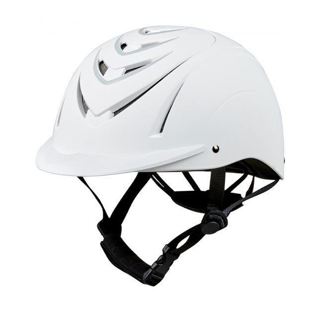 Dublin Garnet Helmet White