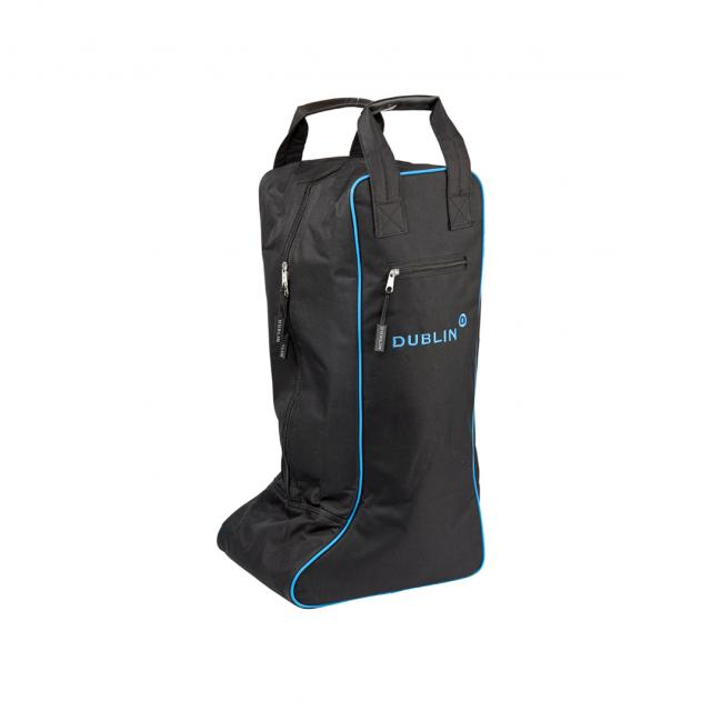 Imperial Tall Boot Bag Black/Blue