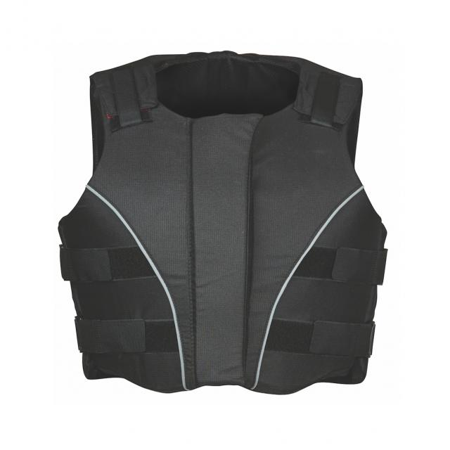 Dublin Supra Flex Ez Zip Body Protector Black
