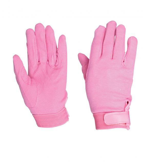 Dublin Track Riding Gloves Pink