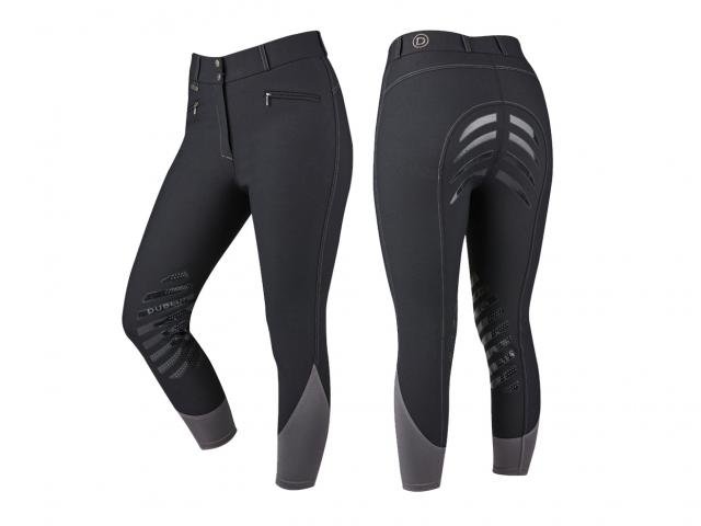 Dublin Inter-Flex Full Seat Breeches Black