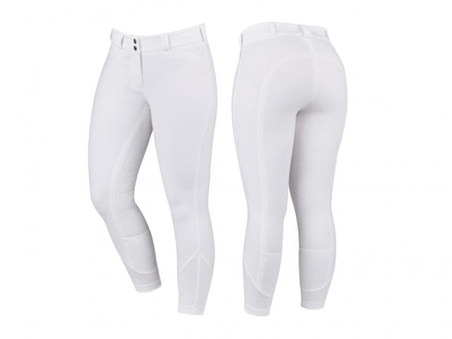 Dublin Prime Gel Full Seat Breeches White