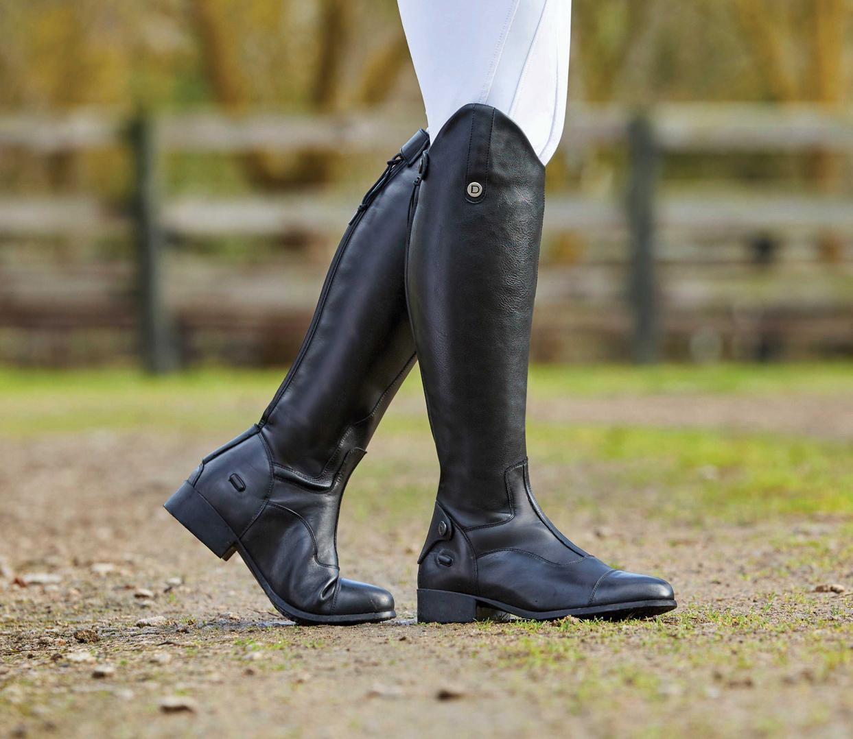 Dublin arderin Field Womens Boots long Riding-Black All Sizes