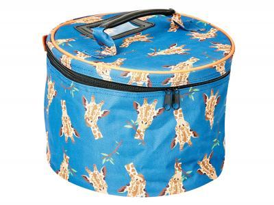 Dublin Imperial Hat Bag Giraffe Print