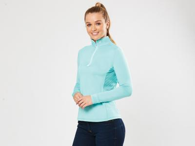 Dublin Kylee Sunblocker Long Sleeve Top Turquoise