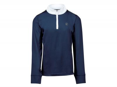 Dublin Macy 1/4 Zip Long Sleeve Training Top Deep Cobalt