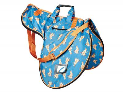 Dublin Imperial Saddle Bag Giraffe Print