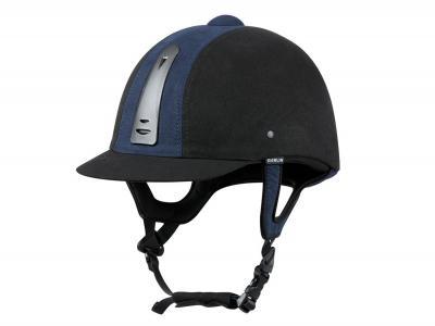 Dublin Silverline 2 Tone Helmet Black/Navy