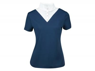 Dublin Tara Competition Lace Shirt Ink Navy
