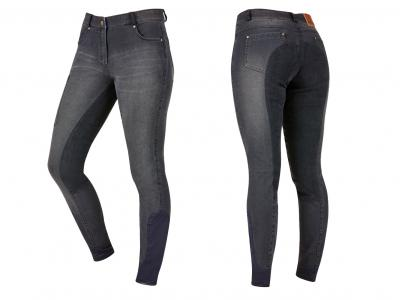 Dublin Shona Full Suede Seat Denim Breeches Ash