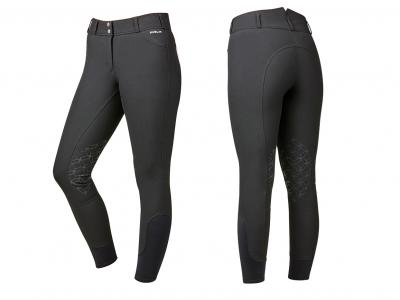 Dublin High Rise Power Knee Grip Breeches Black