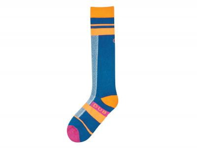 Dublin Adults Single Pack Neon Socks Neon Orange