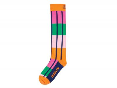 Dublin Kids Single Pack Neon Socks Super Pink