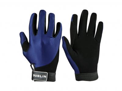 Dublin All Seasons Riding Gloves Navy