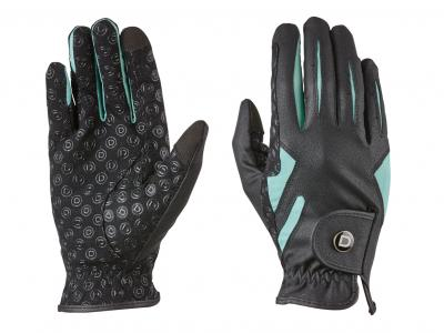 Dublin Cool-It Riding Gloves Black/Teal