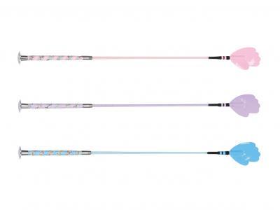 Dublin Crystal Handle Crop Pink, Purple & Blue