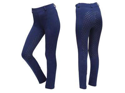Dublin Performance Cool-It Gel Kids Riding Tights Navy