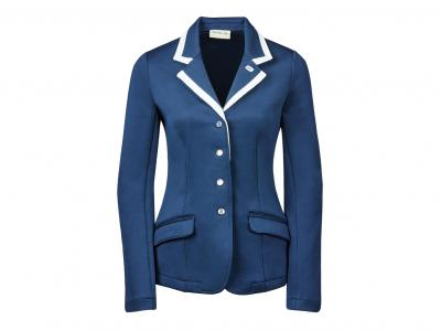 Dublin Pro-Stretch Competition Jacket Navy/White Front