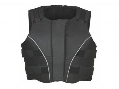 Dublin Supra Flex Ez Zip Body Protector Black