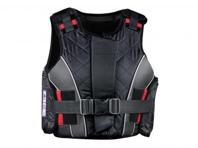 Dublin Supra Flex Zip Body Protector Black