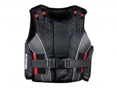 Dublin Supra Flex Zip Body Protector Black