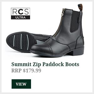 Summit Zip Paddock Boots